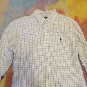 Long Sleeve Button Down Polo